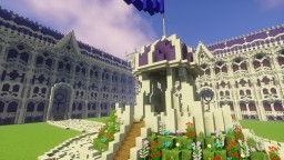 Palace Server Spawn Minecraft Map & Project