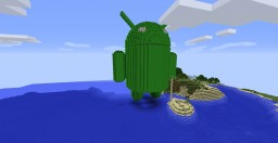 Giant Android (schematic) Minecraft Map & Project