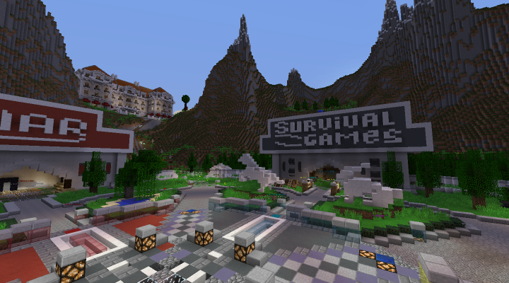 1 8 to 1 3 PvP Survivalgames events each week rent a hotel