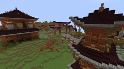 Minecraft Japanese Server Spawn Minecraft Map & Project