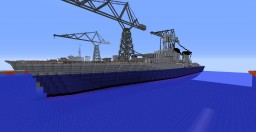 French Cruiser La Gallissonniere Minecraft Project