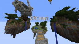 SKYBLOCK SPAWN 1.12.2 ( WITH SHOP AND ENCHANT ) Minecraft Project
