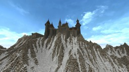 cold land's castle Minecraft Project