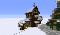 Snow/Christmas town Minecraft Project