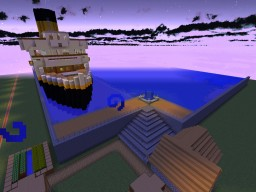 CUNARD STAR LINE Minecraft Project