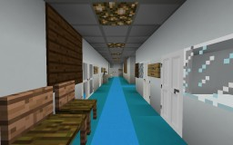 NBCA: A Minecraft School Minecraft Map & Project