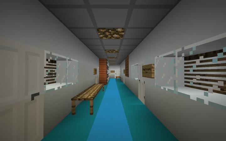 A Hallway in the School