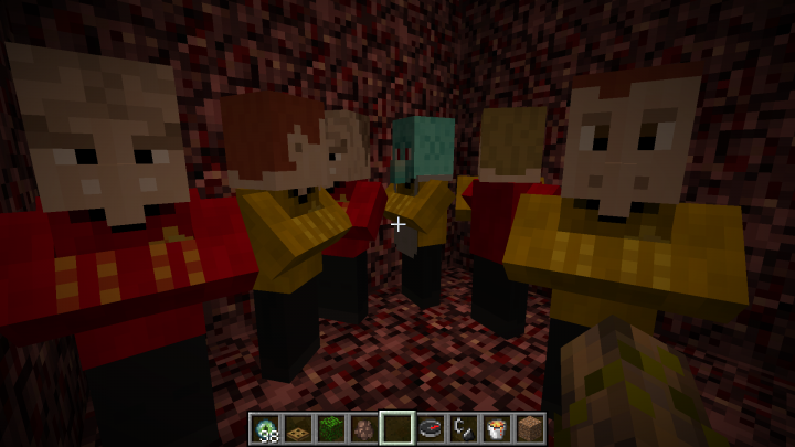 Crewmembers...er, I mean Villagers