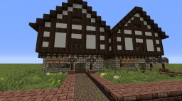 Tudor Village Minecraft Map & Project