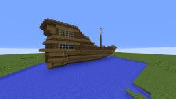 Pirate Ship / Yacht Minecraft Map & Project