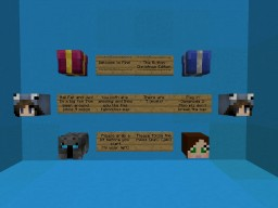 Find the Button Chrismas Map Minecraft Project