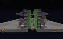 !2 Gauge Double Barrel Pigman Launcher Minecraft Project
