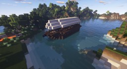 Survival Barge (boat) Minecraft Project