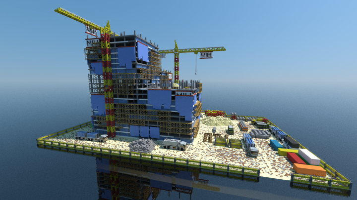 construction site minecraft project
