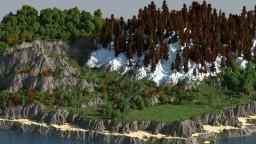 Survival Island - WorldMachine Minecraft
