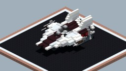 RZ-1 A-wing Interceptor (2:1) Minecraft Project