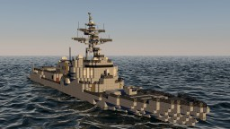 Arleigh Burke Flight IIA Destroyer DDG Minecraft Project