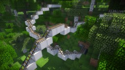 Cave Rumbler - Roller Coaster Minecraft Map & Project