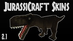 JurassiCraft Skinpack 1 Minecraft Map & Project