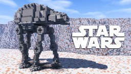 Star Wars AT-AT + Tutorial Minecraft Project