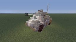 "R.D.O BK-9 ""Weasel"" Armored reconnaissance car Minecraft Project"