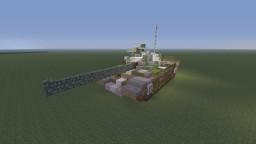 """Soviet Cold War T-62 """"Prague Spring"""" Minecraft Project"""