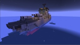 Light Cruiser Renegade (Movecraft/Navalcraft) Ship Minecraft Project