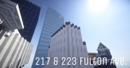 217 & 223 Fulton Ave. Minecraft