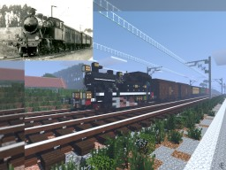 161 Year of Portuguese Railways Minecraft Project