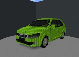 Skoda Fabia III 2017 (exterior only) Minecraft Project