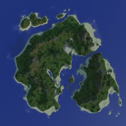 My first attempt at WorldPainter Minecraft Map & Project