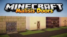 Malisis Doors Mod Showcase (For Minecraft 1.7.10) Minecraft Blog Post