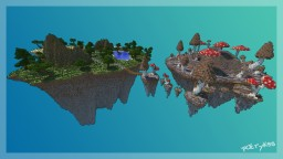 [Schematic] Floating Islands Minecraft Map & Project