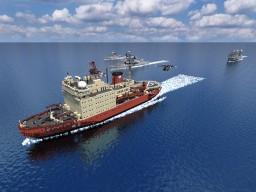 ARA Almirante Irízar (Q-5) icebreaker Minecraft Project