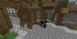 Medieval Prisoner Cart Minecraft Map & Project