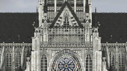 3:1 scale Cathedral Minecraft