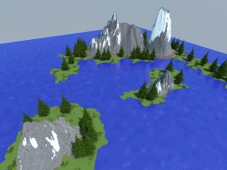 Map forest - [Creativia] Minecraft Project