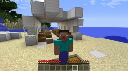 Crashed Plane Survival 1.4 Minecraft Project