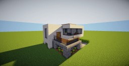 SM-Modern-House-16 Minecraft Project