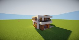SM-Modern-House-17 Minecraft Project