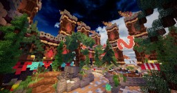 SPAWN PVP/FACTION + WARZONE Minecraft Project