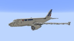 F'n'A Gaming Airbus A318 AirFrance Minecraft