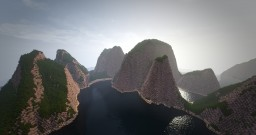 Phi phi islands inspired landscape 1500x1500 Conquest reforged Minecraft Map & Project