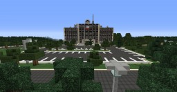 Hawkins National Laboratory and Wheeler House | Stranger Things Minecraft Map & Project