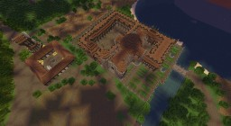 Monastery +Mill +Tombs + abbot palace /Klasztor+Młyn+Krypta+Pałac Opata Minecraft Project