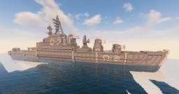 Finale Futuristic Destroyer Minecraft Project