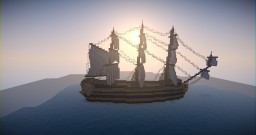 18th Century English Ship | Golden Minecraft Project