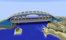 Suspension bridge Minecraft Map & Project