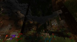 Hand Build Cave Minecraft Map & Project