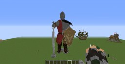 gladiator statue Minecraft Project